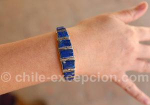 Pierre semi-précieuse lapis-lazuli spécialité du Chili
