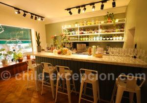 Restaurante El Huerto, le bar