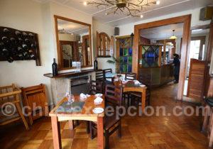 Tops restaurants de Valparaiso, La Concepción